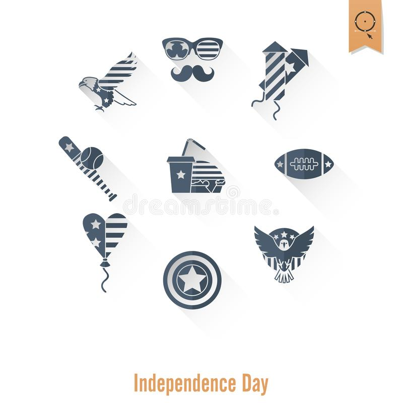 День независимости Соединенных Штатов иллюстрация вектора