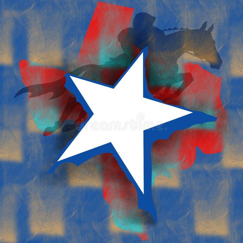 День независимости Техаса бесплатная иллюстрация