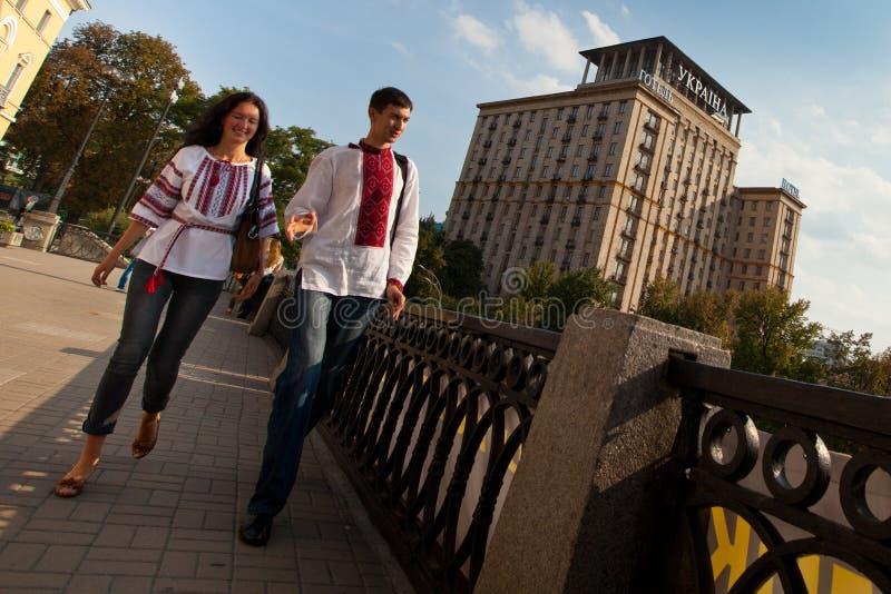 День независимости Украины стоковая фотография