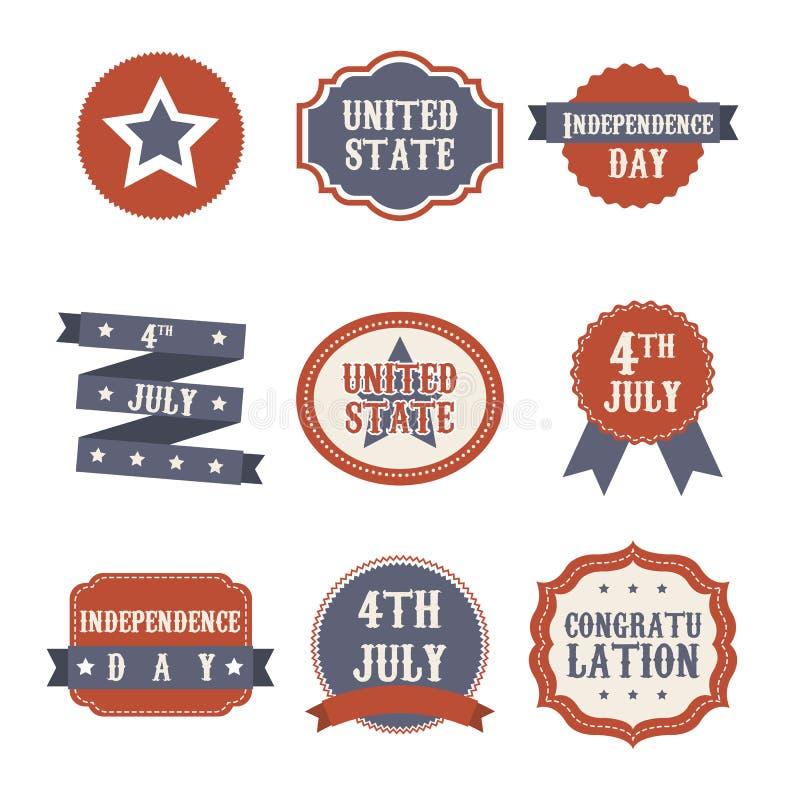 День независимости иллюстрация штока