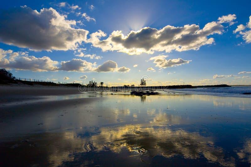 день новый южный солнечный вэльс Австралии стоковое изображение rf