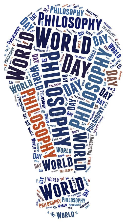 День общего соображения мира иллюстрация штока