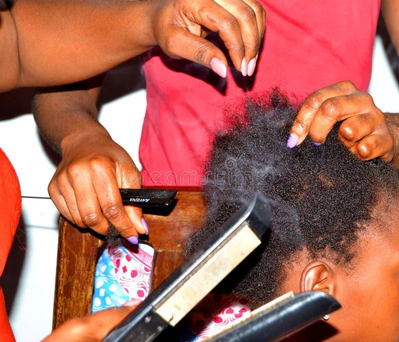 День парикмахерских услуг мира стоковое изображение