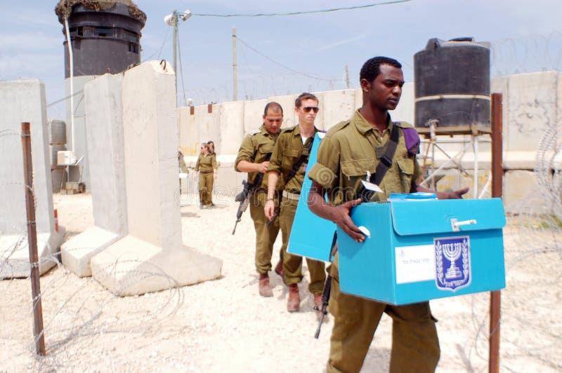 День парламентских выборов Israels стоковые изображения rf