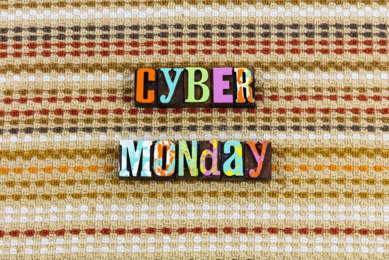 День продаж интернета понедельника кибер стоковые фотографии rf