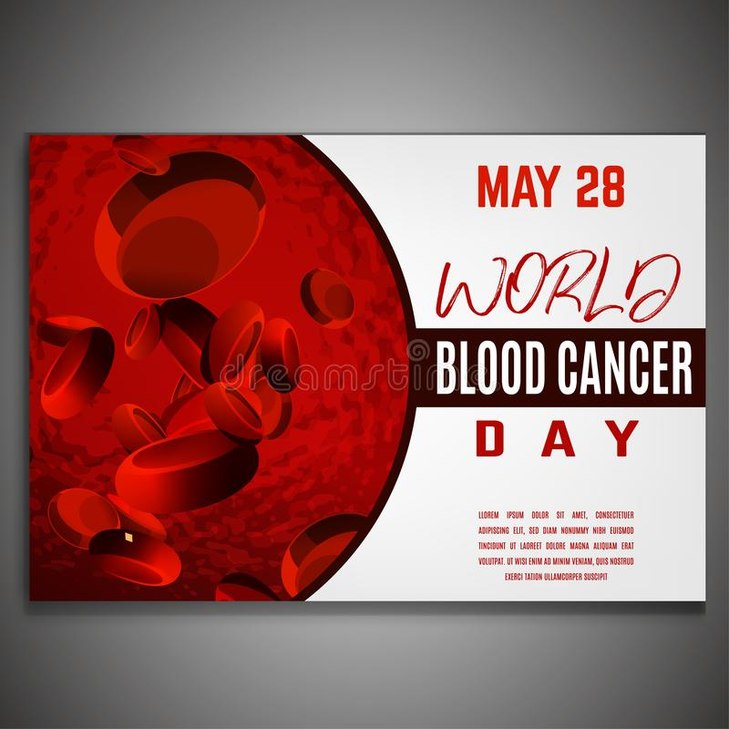 День рака крови бесплатная иллюстрация