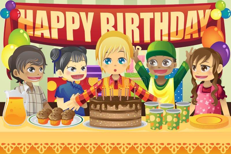 день рождения ягнится партия бесплатная иллюстрация