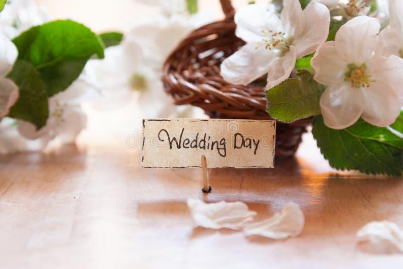 День свадьбы стоковые изображения