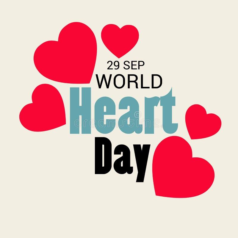 День сердца мира бесплатная иллюстрация