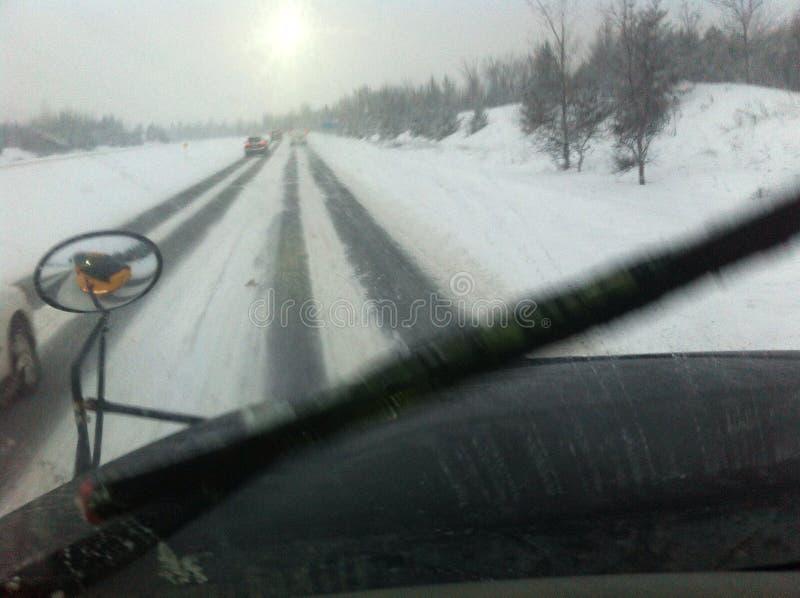 День снега стоковые фотографии rf