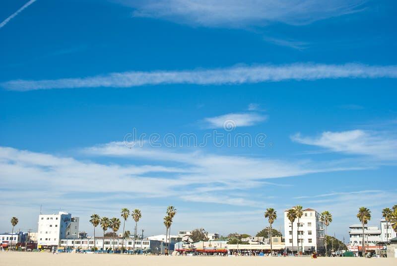 день солнечный venice 7 пляжей стоковая фотография