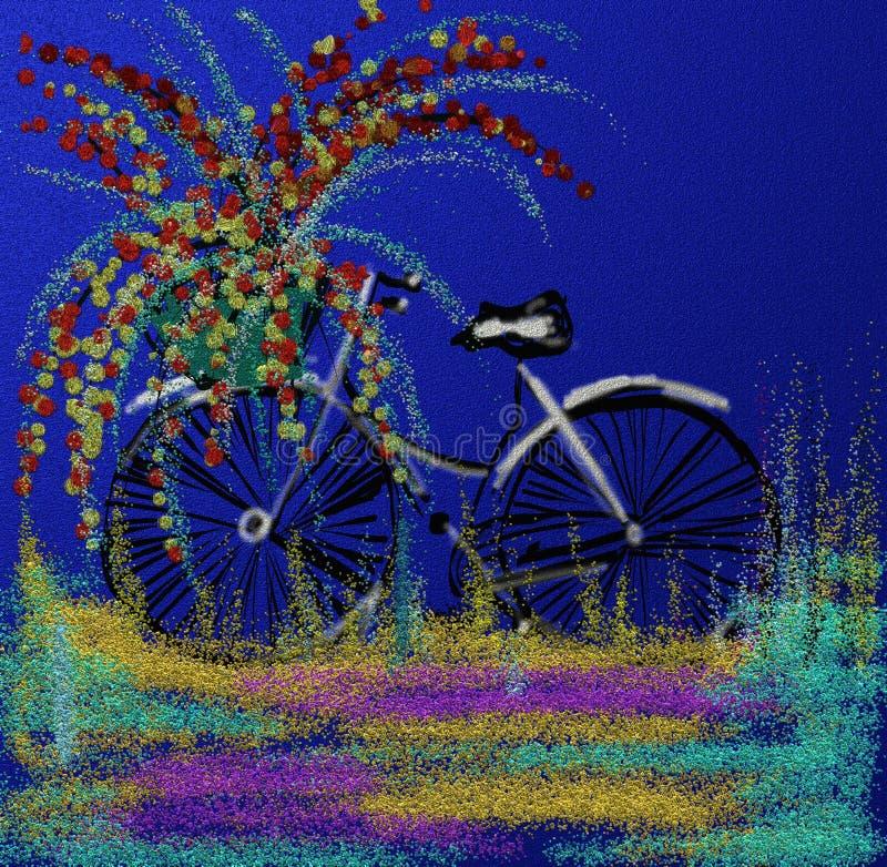 День цветеня велосипеда стоковые фото
