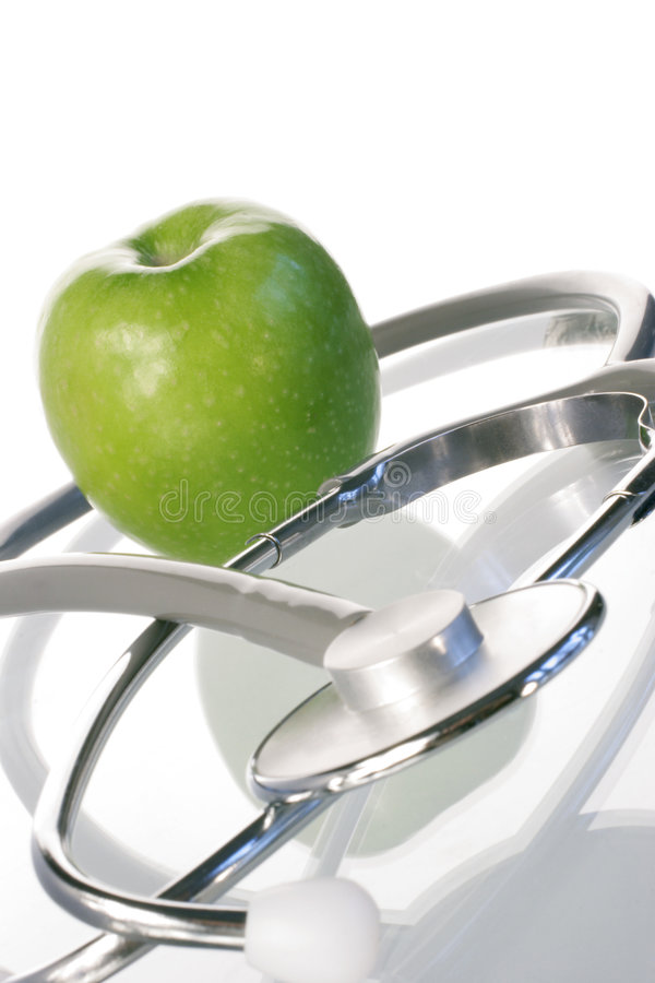 Download день яблока стоковое фото. изображение насчитывающей доктор - 477612