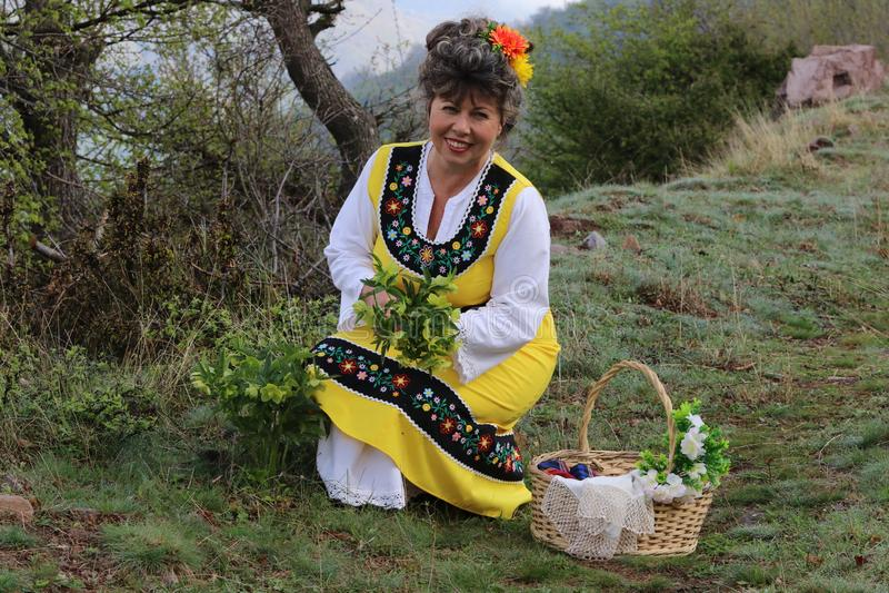День Lazarki болгарский традиционный праздничный день стоковое изображение rf