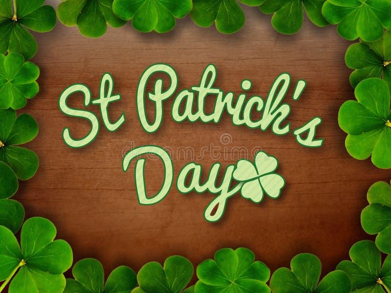 День ` s St Patrick иллюстрация штока