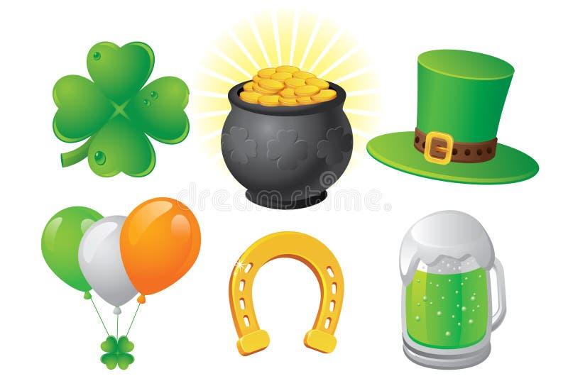 День St. Patrick стоковые изображения