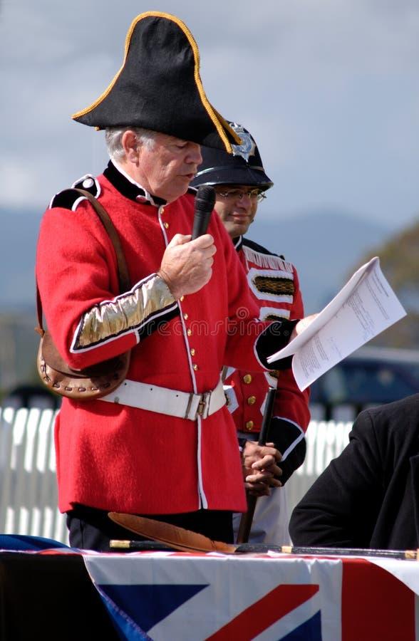 День Waitangi - праздничный день Новой Зеландии стоковое изображение