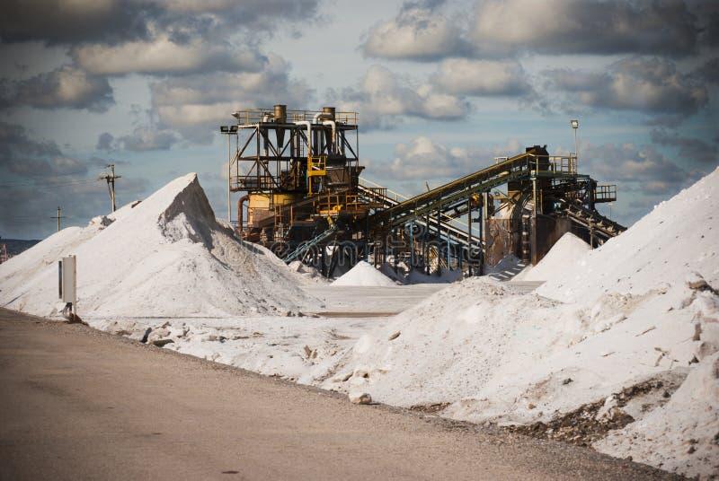 Депозиты соли стоковое изображение rf