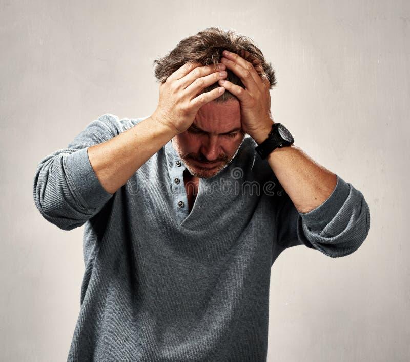 Депрессия стоковые фотографии rf
