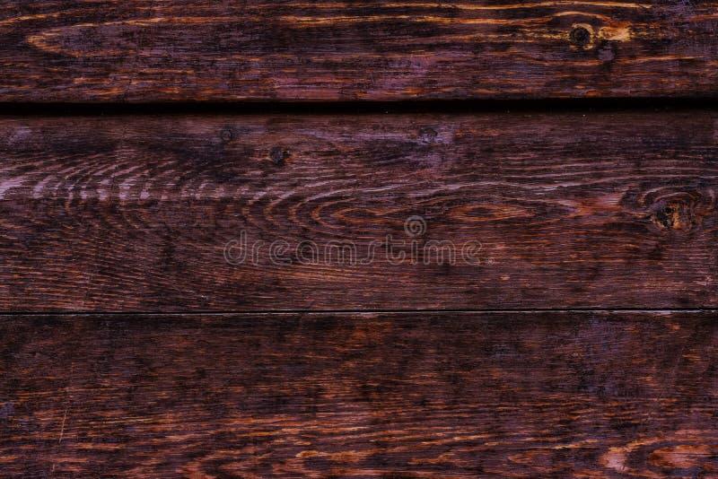 Деревенская деревянная текстура, темные планки шоколада стоковое фото rf