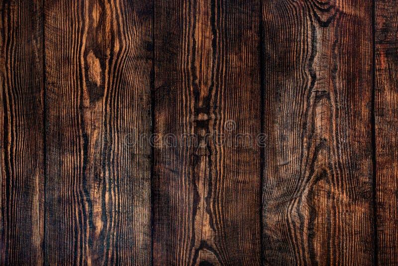 Деревенская коричневая деревянная поверхность стоковые фотографии rf
