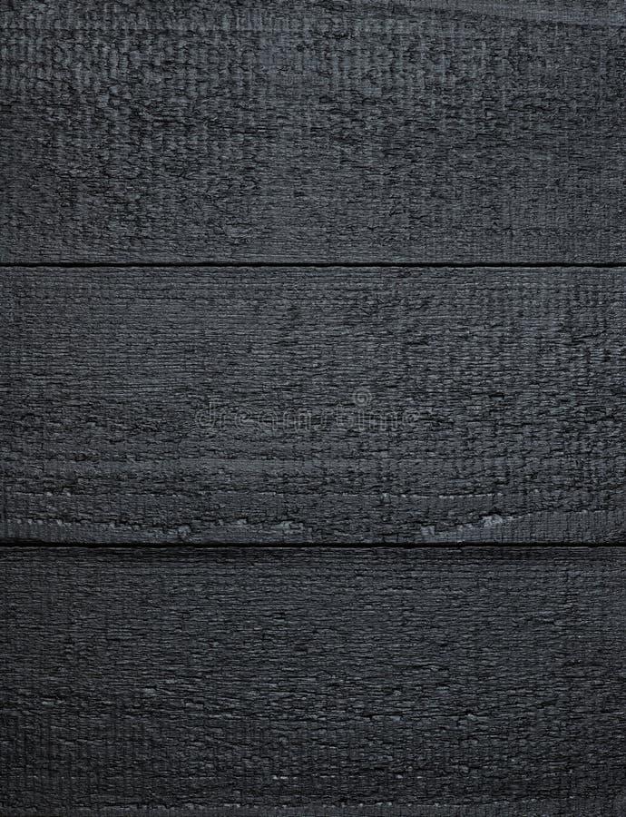 Деревенская черная деревянная текстура стоковое фото rf