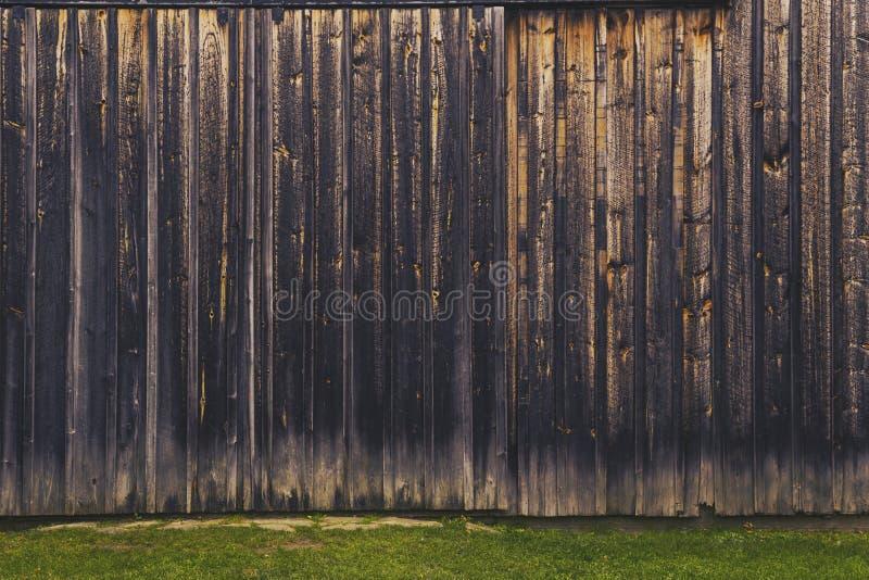 Деревенские старые доски амбара стоковое фото rf