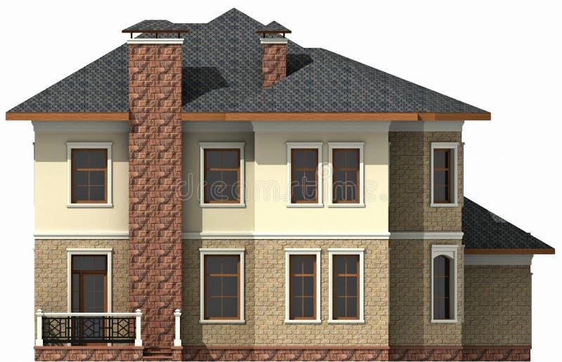 деревенский дом иллюстрация вектора