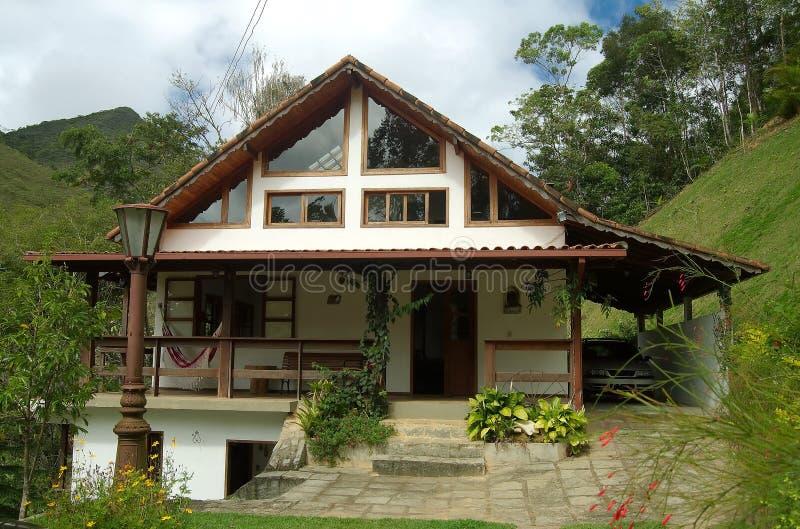 деревенский дом стоковое фото