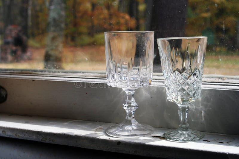 Деревенское стеклоизделие стоковое изображение