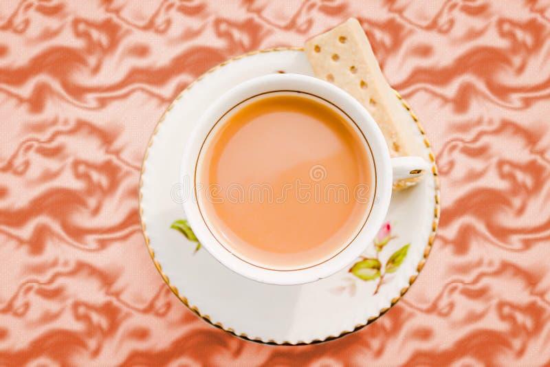 Деревенское Cuppa стоковое изображение rf