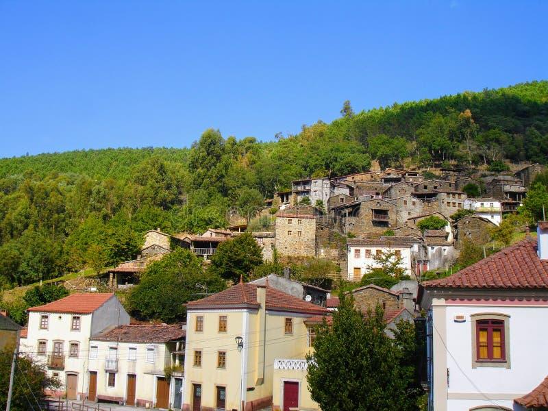Деревни сланца центральной Португалии стоковое фото rf