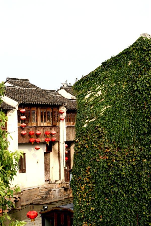 Деревня воды Сучжоу стоковая фотография rf