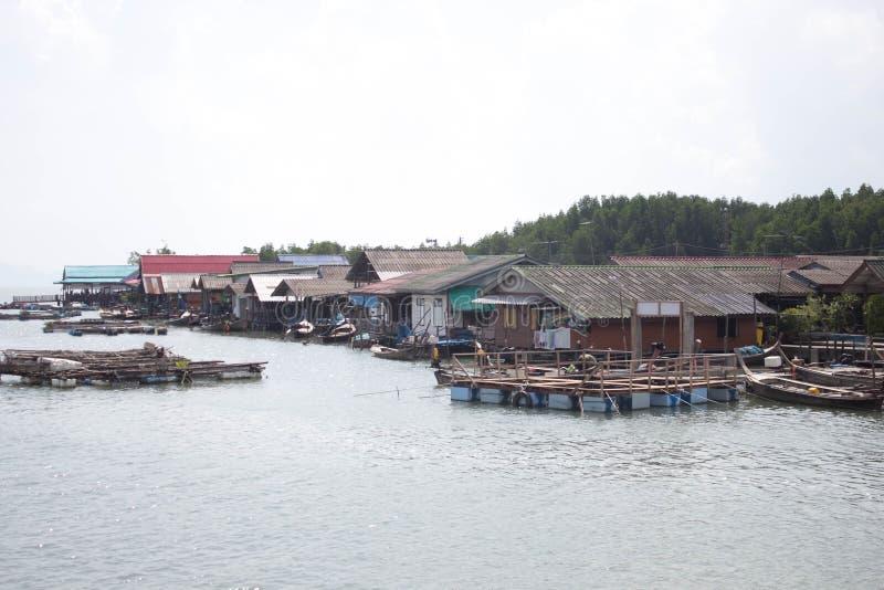 Деревня воды стоковые изображения