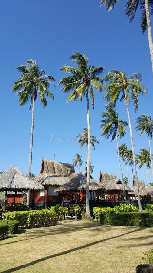 Деревня курорта, Таиланд стоковая фотография