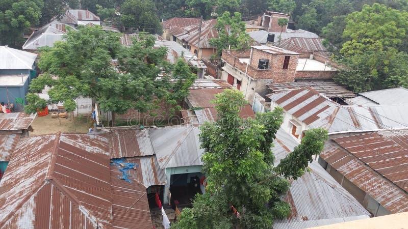 Деревня обзора стоковая фотография rf