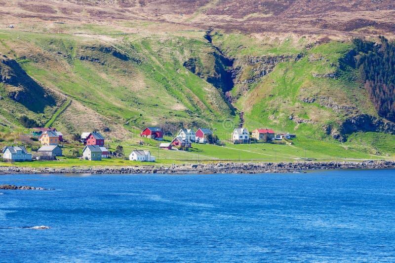 Деревня побережья стоковое фото