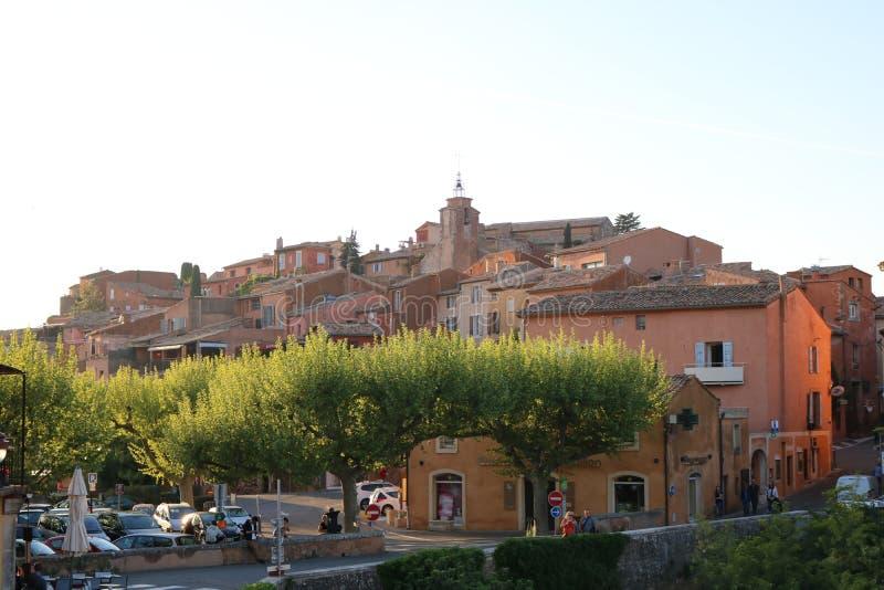 Деревня Провансали известная стоковое фото rf