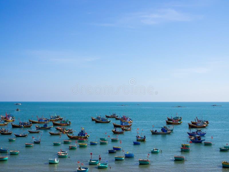 Деревня рыболова стоковая фотография