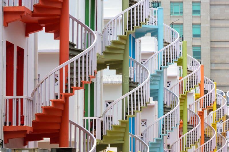 Деревня Сингапур Bugis стоковые фото