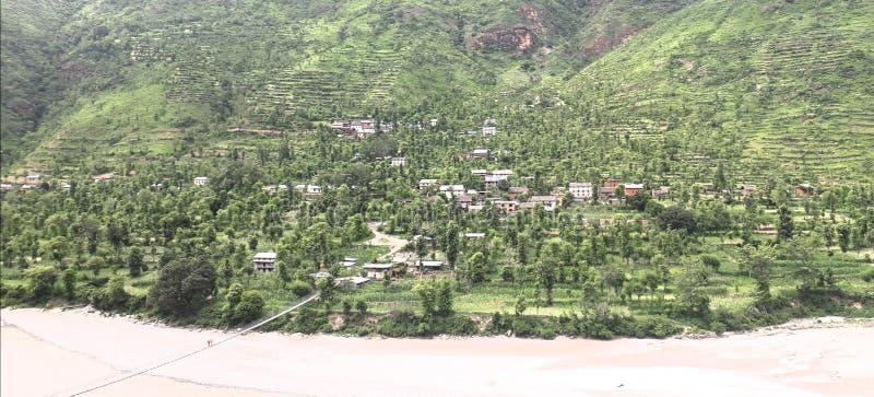 Деревня стоковое изображение