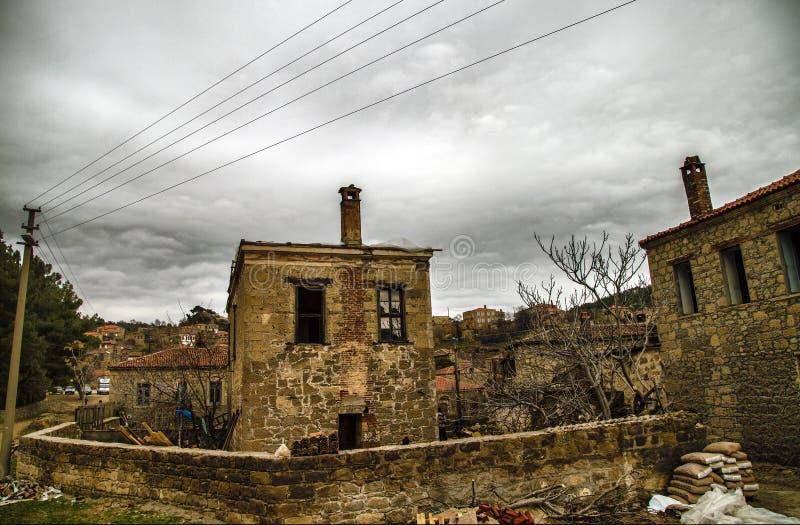 Деревня Adatepe стоковые фото