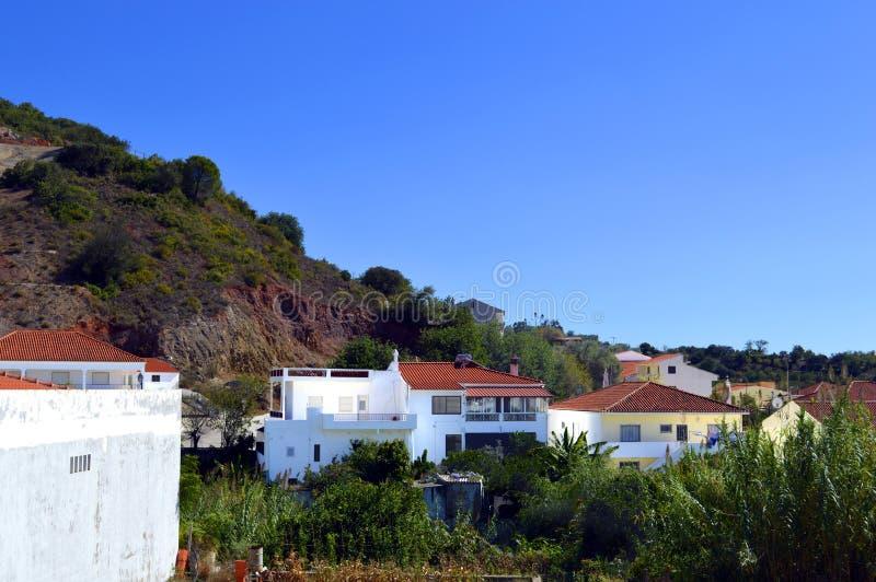 Деревня Alte в Португалии стоковое изображение rf