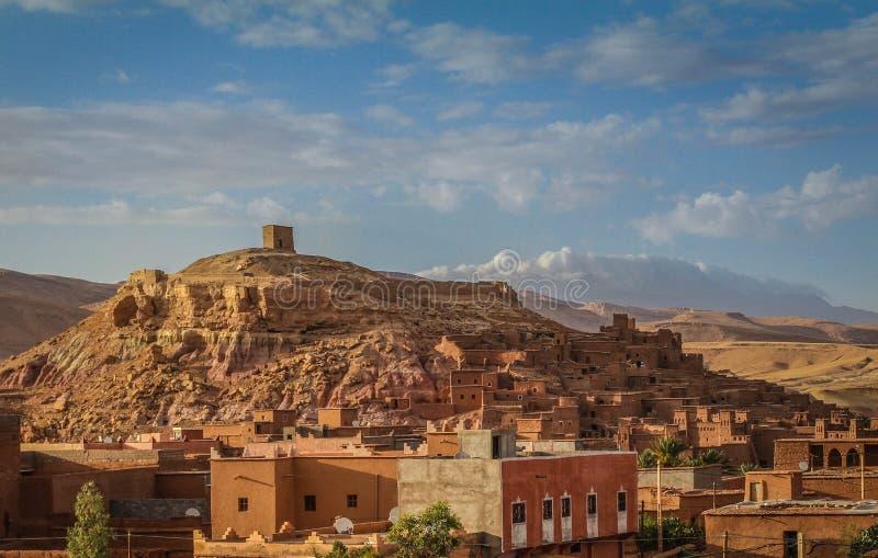 Деревня Berber стоковые фотографии rf