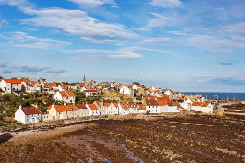 Деревня Crail, Шотландии стоковые изображения