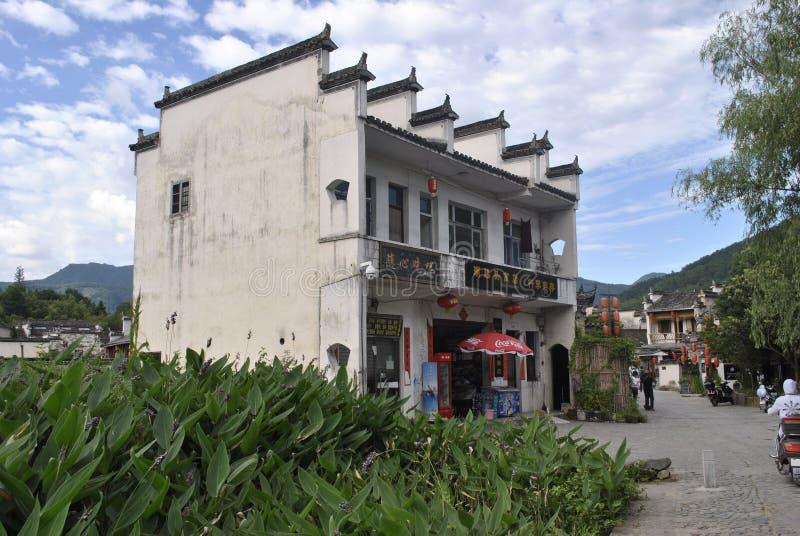 Деревня Hongcun в Аньхое, Китае стоковые изображения
