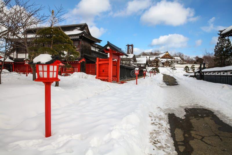 Деревня Ninja стоковое изображение rf