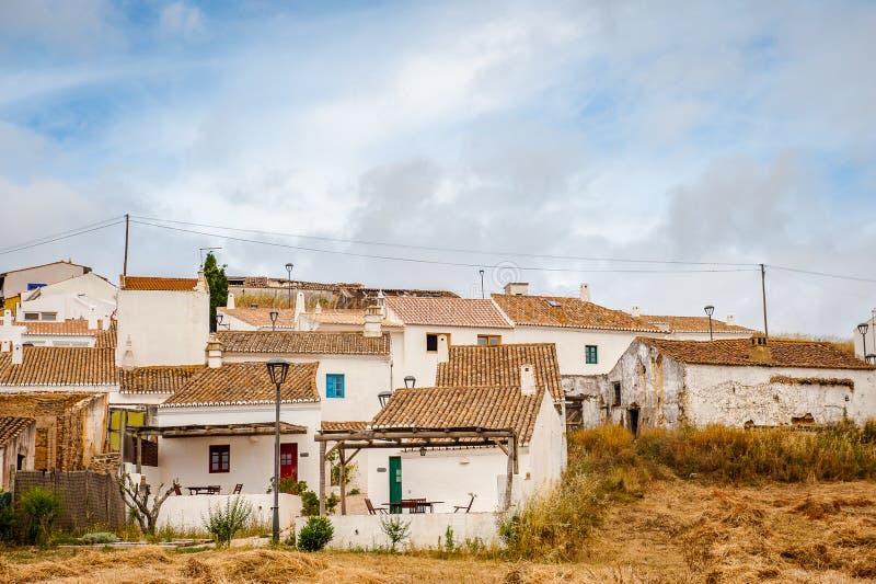 Деревня Pedralva, Алгарве, Португалия стоковые изображения rf