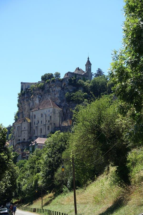 Деревня Rocamadour стоковое изображение