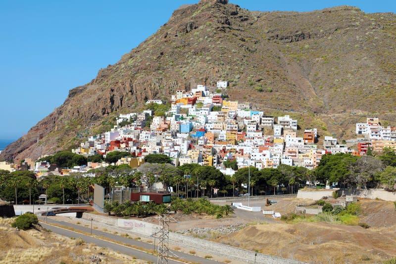 Деревня San Andres на острове Тенерифе, Испании стоковое фото rf